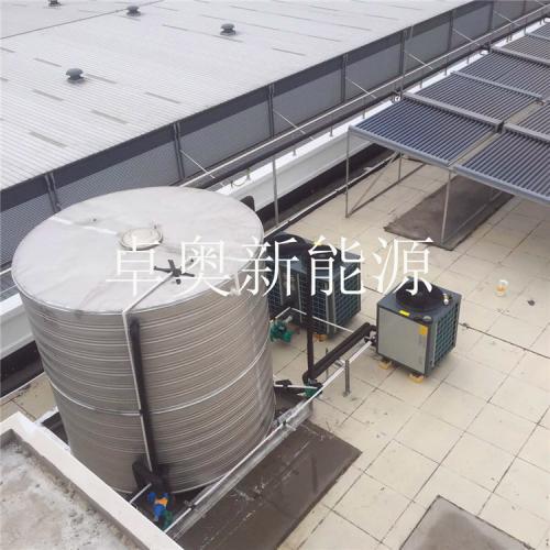 物流园10吨太阳能加空气能系统