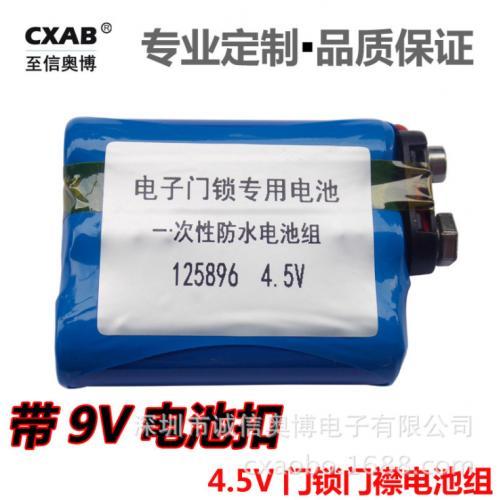 一次性防水电池组
