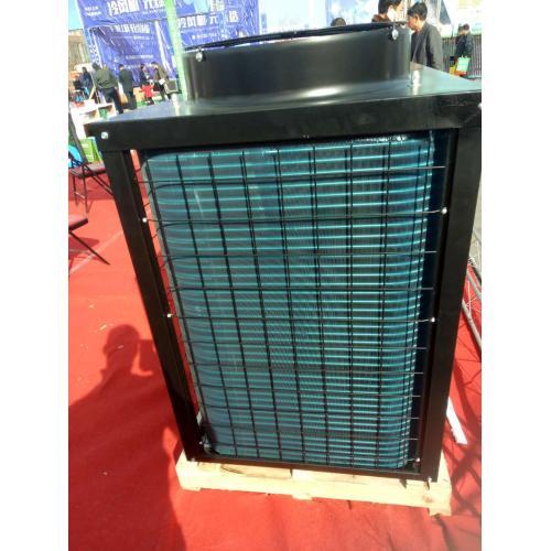 空气能热泵圆柱形缓冲水箱冷暖风机
