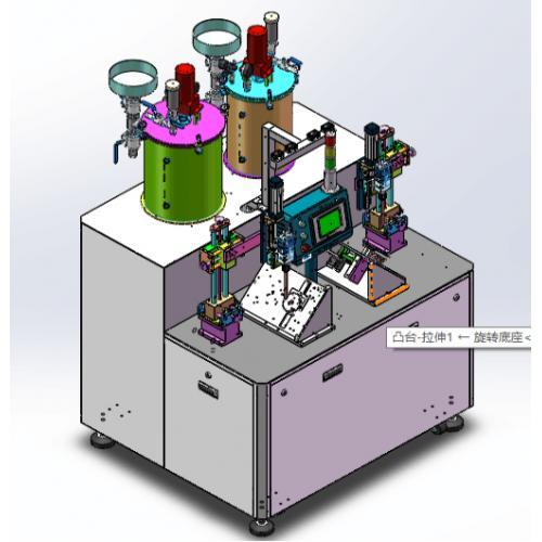 机油滤清器点胶机
