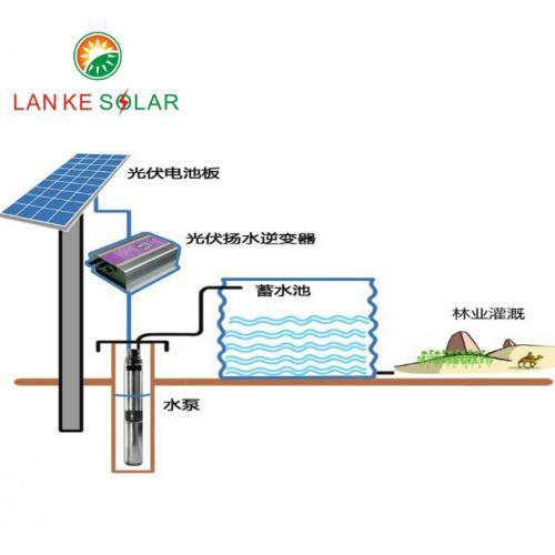 45KW太阳能灌水系统