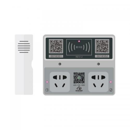 小区电动车智能刷卡扫码充电插座