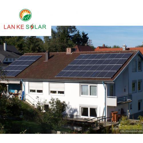 十千瓦并网太阳能光伏发电系统