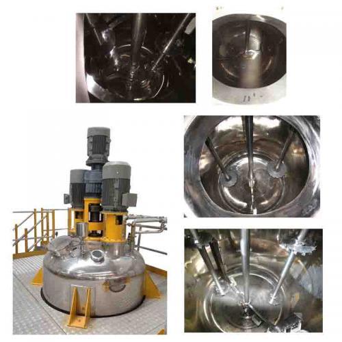三轴多功能分散搅拌釜