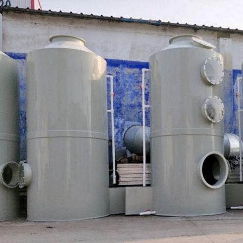 pp噴淋塔凈化塔 水噴淋廢氣凈化處理設備