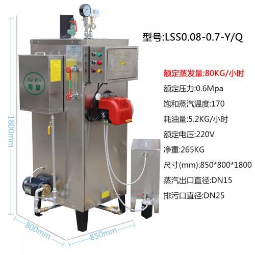 立式燃油蒸汽发生器锅炉