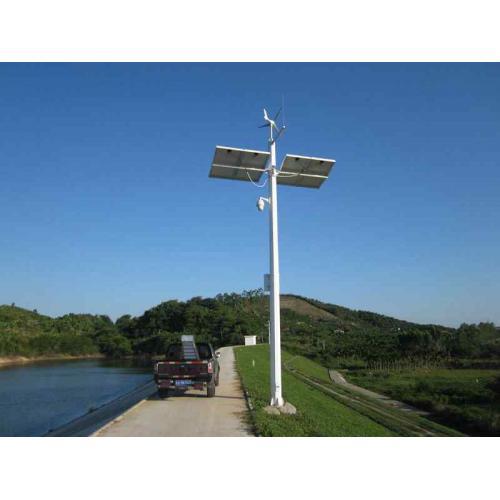 离网太阳能风光互补水文水利视频监测系统供电