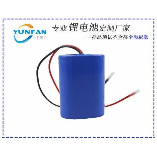 6.4V/1200mAh石墨烯锂电池