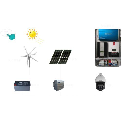 离网太阳能森林防火远程监控集成供电系统