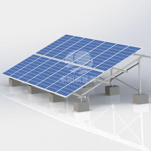 地面碳钢光伏支架系统