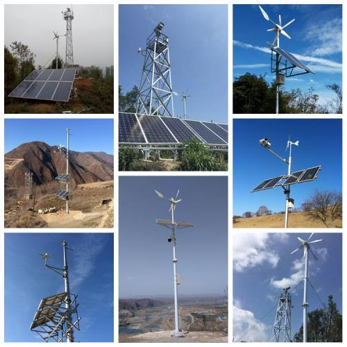 风光互补离网森林防火视频监控供电解决方案