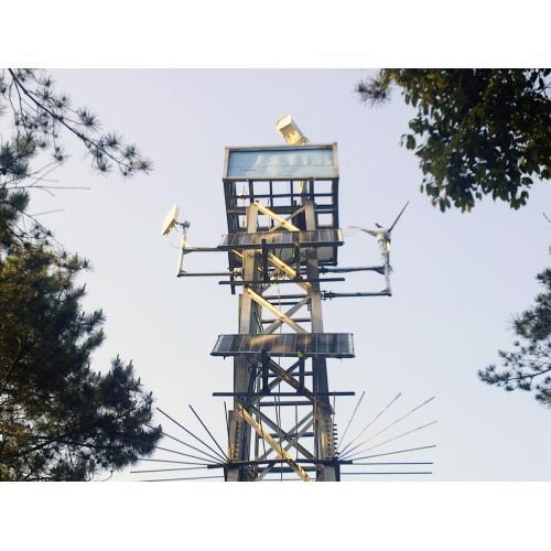太阳能风光互补智慧离网供电系统解决方案
