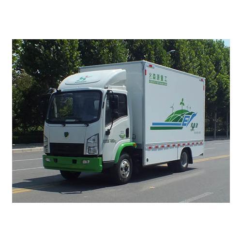 7吨箱式物流车