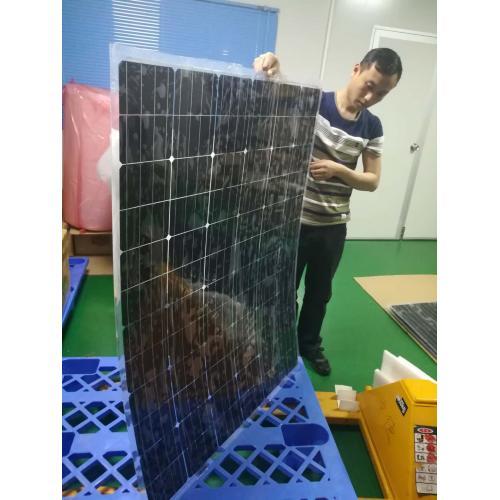 圆形太阳能电池板