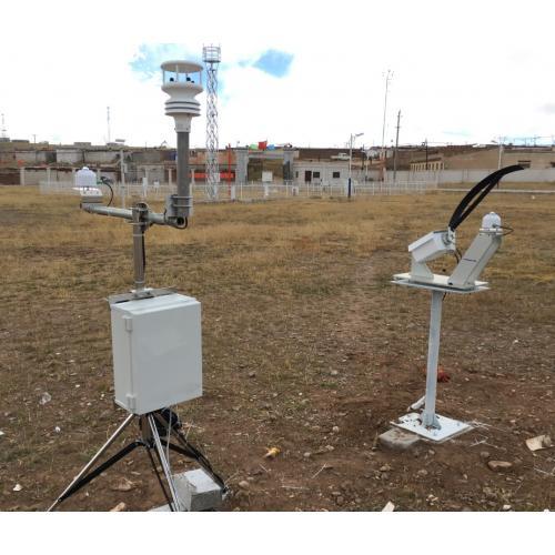 旋转式太阳辐射监测系统