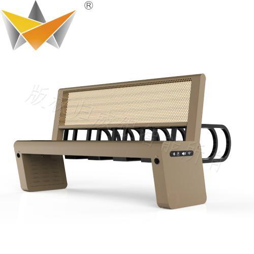 太阳能长条椅