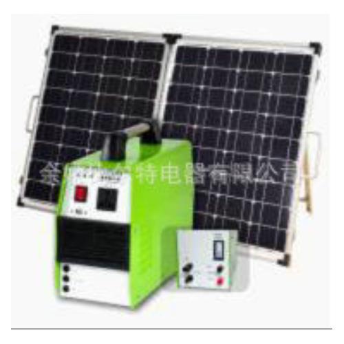 便攜式太陽能系統