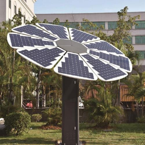太阳能智能公园椅