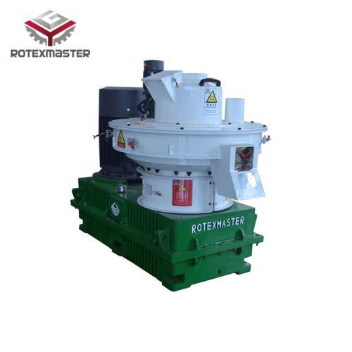 山東宇冠機械供應新型離心式木屑環模顆粒機