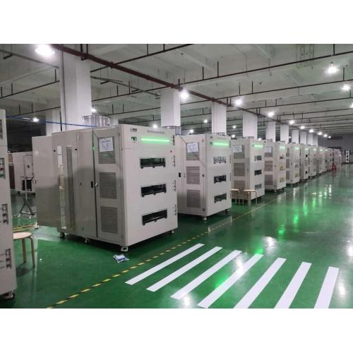768CH圆柱电芯自动化成分容设备