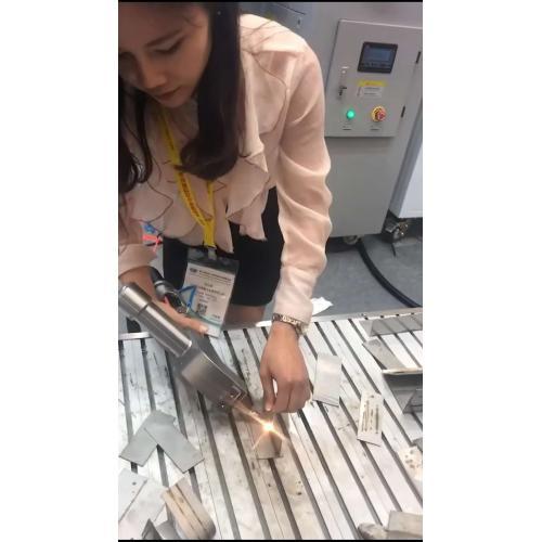 锂电池光纤激光点焊机