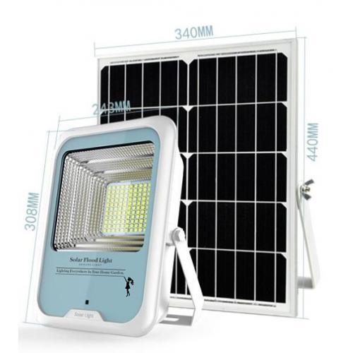 智能太阳能投光灯