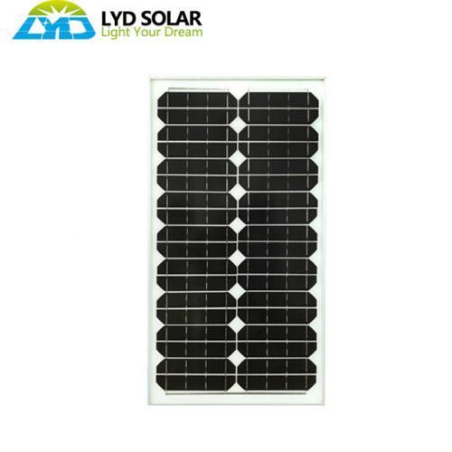 單晶30w太陽能組件