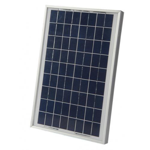 10W多晶硅太阳能电池板