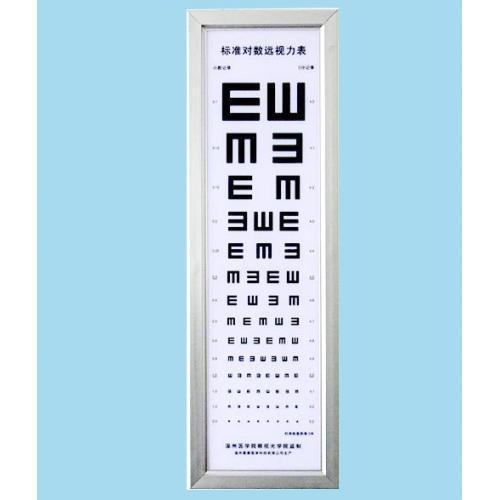 标准对数远视力表