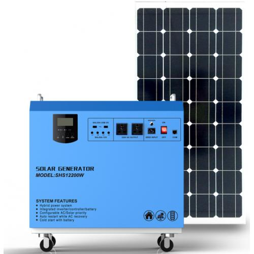 500W太阳能离网发电系统