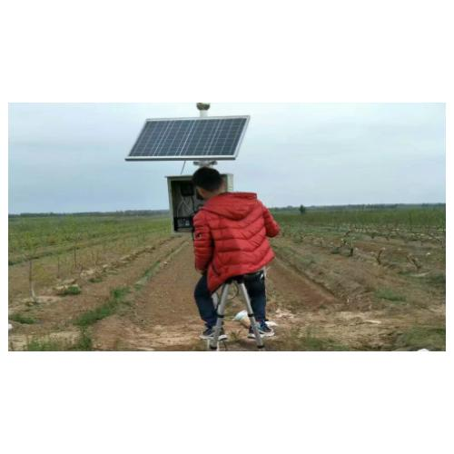 GPRS无线远传太阳能板供电电磁流量计