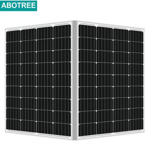75W单晶硅太阳能电池板