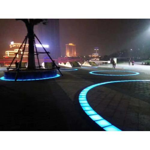 LED地面灯带发光砖