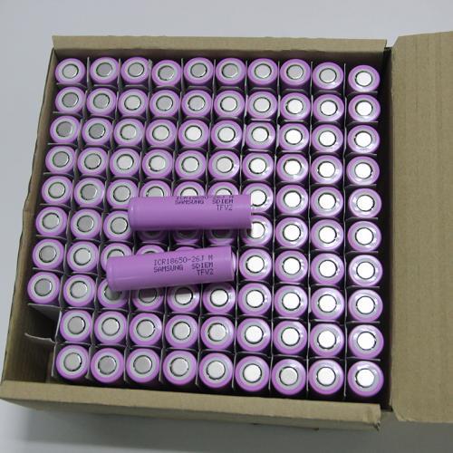 三星原装进口18650可充电电池