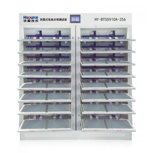 18650圆柱聚合物电池分容柜检测