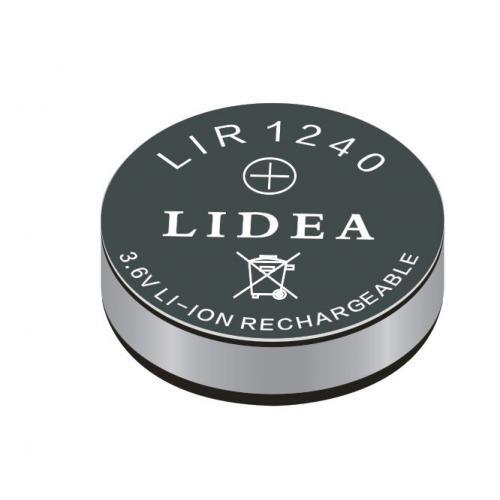LIR1240蓝牙耳机锂离子纽扣电池