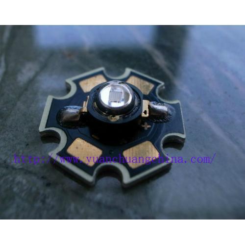1W大功率380-385nm紫UVLED