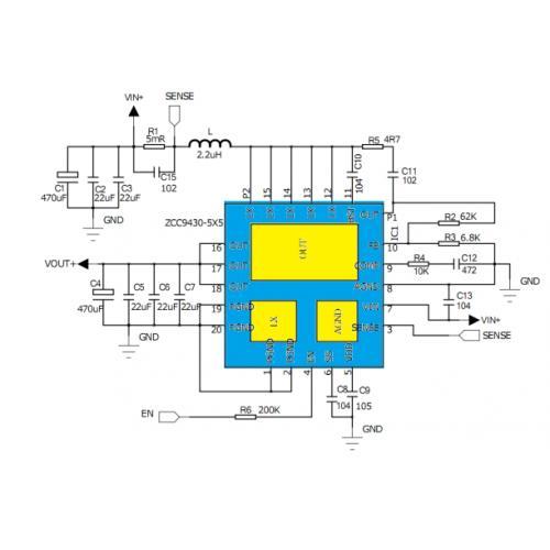 30V内置MOS同步升压芯片