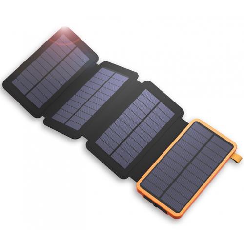 磨砂單晶太陽能充電寶