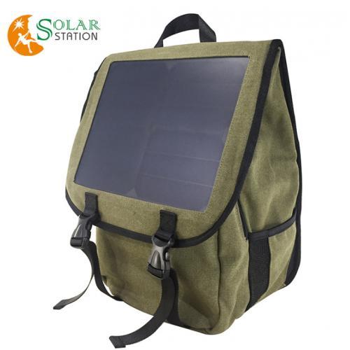 太阳能双肩背包