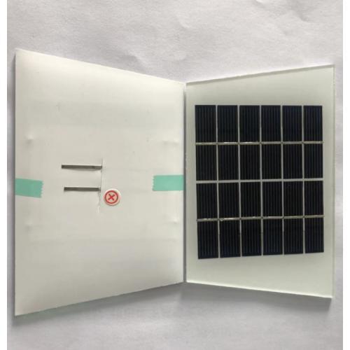 玻璃层压太阳能小组件
