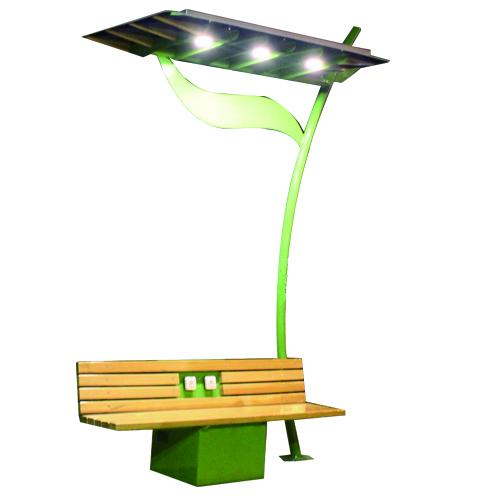 智能太阳能座椅