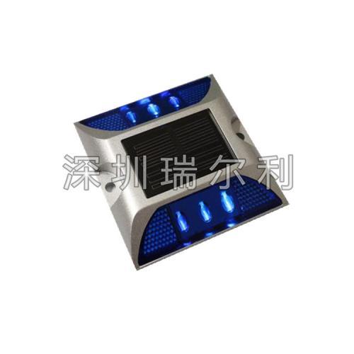 雙面發光太陽能鑄鋁道釘燈