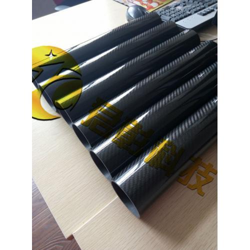 3k斜纹亮光漆碳纤维管