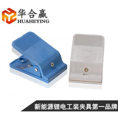 軟包動力電池大電流化成夾具