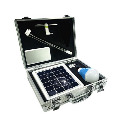 多功能太陽能供電照明系統