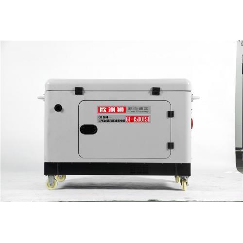 车载低噪音12KW柴油发电机