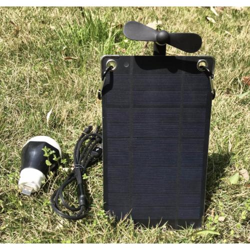 多功能便攜式太陽能充電寶