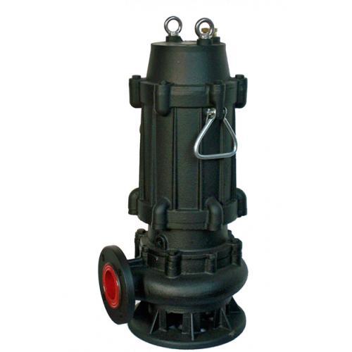 带铰刀污水泵