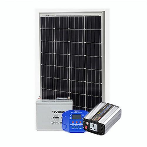 100W离网太阳能系统